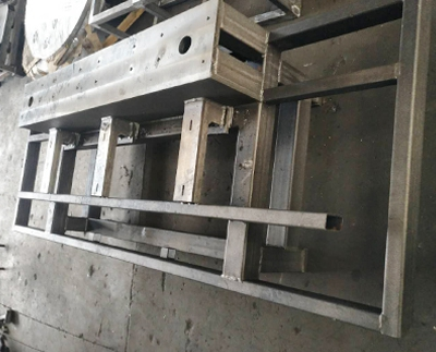 Welding Processing of Frame